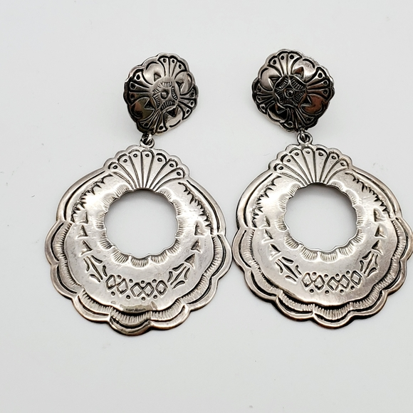 Beautiful sterling silver earrings